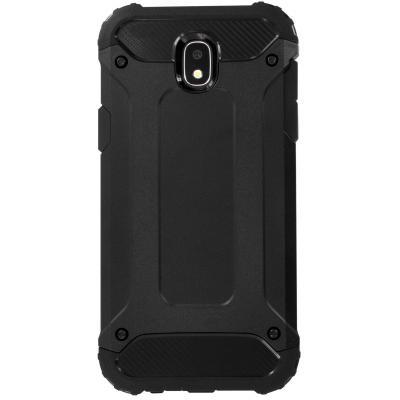 Mobiparts Rugged Shield Case Samsung Galaxy J5 (2017) Black Mobile phone case - Zwart