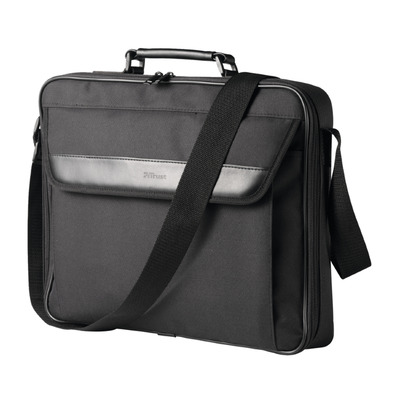 Trust Atlanta   Laptop Schoudertas   17.3 inch   Zwart Laptoptas