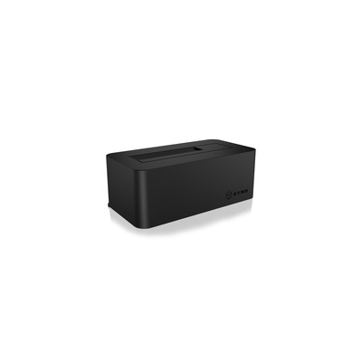 ICY BOX IB-112StU3-B HDD/SSD docking station - Zwart