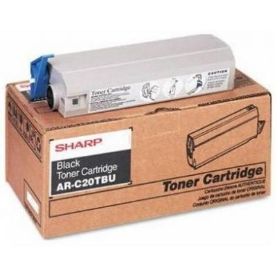 Sharp Black, Standard Capacity, 1-pack Toner - Zwart