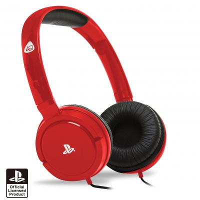 4gamers game assecoire: PRO4-15 Stereo Gaming Headset (Rood)  PS4