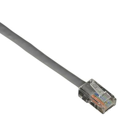 Black Box CAT5e 100 MHz Ethernet Patch Cable - UTP, PVC, Basic Connectors, Gray, 7ft. Netwerkkabel - Grijs