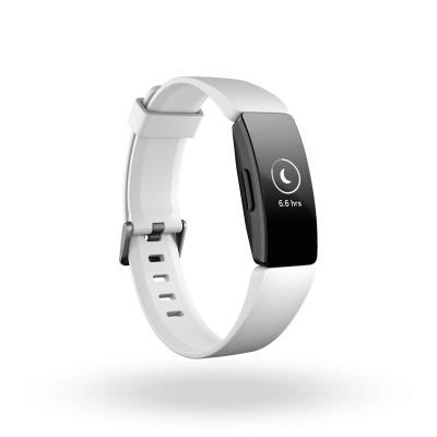 Fitbit Inspire HR Wearable - Zwart, Wit