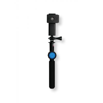 Dicapac : Floating Selfie Stick with a bluetooth 4.0 remote control - Zwart