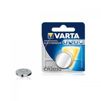 Varta batterij: CR 2032 Knoopcel actie pakket 9+1 gratis