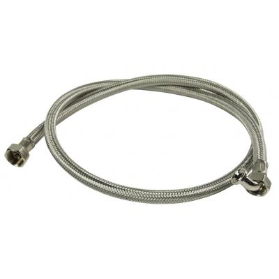 """Hq keuken & huishoudelijke accessoire: Inlet hose stainless steel 3/4"""" - Roestvrijstaal"""