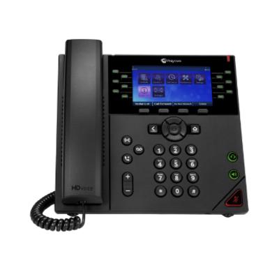 POLY VVX® 450 IP telefoon - Zwart