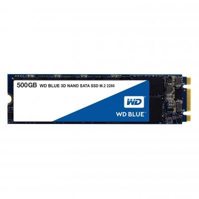 Western digital SSD: Blue 3D NAND SATA SSD 500GB - Zwart