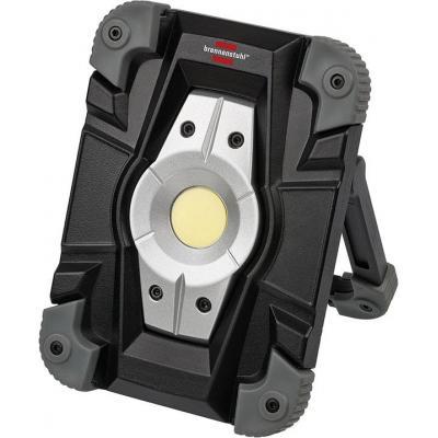 Brennenstuhl work light: LED, 10W, IP54, 1000lm, 6500K, Li-ion, 3.7V, 4400mAh - Zwart