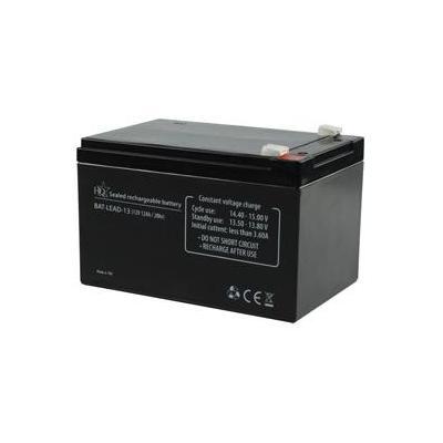 Hq UPS batterij: Lead-Acid 12V 12Ah - Zwart