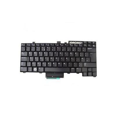 Dell notebook reserve-onderdeel: Keyboard (UK) - Zwart