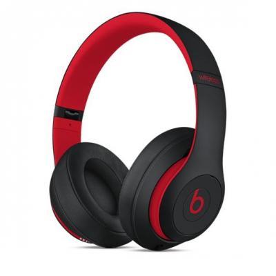 Apple headset: Beats Studio3 - Zwart, Rood