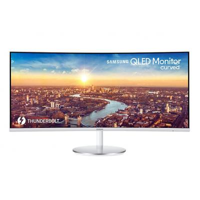 Samsung monitor: Curved QLED Monitor 34 inch LC34J791WTU - Grijs
