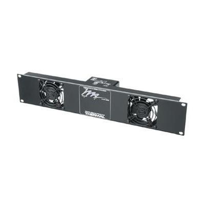Middle Atlantic Products : Fan Panel, 50 CFM, 24 dB, 220 V, 2U