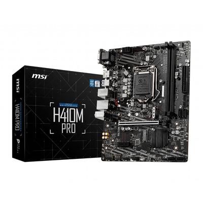 MSI H410M-PRO Moederbord