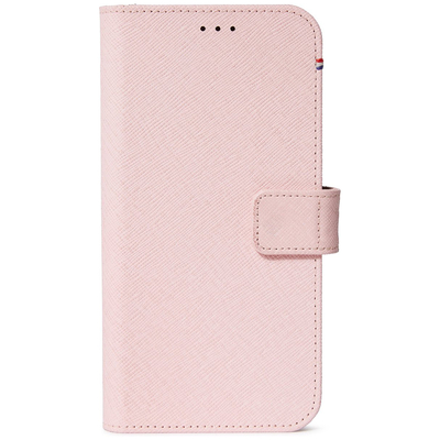 Decoded 2 in 1 Leather Detachable Wallet iPhone 12 (Pro) - Roze - Roze / Pink Mobile phone case