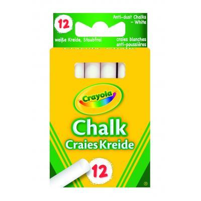 Crayola krijt: 12 witte bordkrijtjes