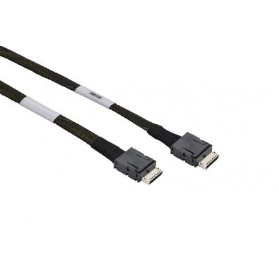 Supermicro 65 cm OCuLink to OCuLink Cable Kabel - Zwart