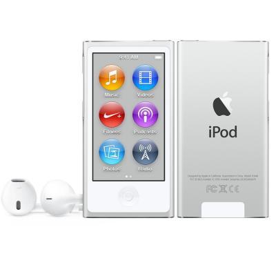Apple MP3 speler: iPod Nano 16GB - Zilver