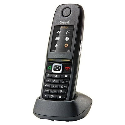 Gigaset R650H Pro Dect telefoon - Zwart