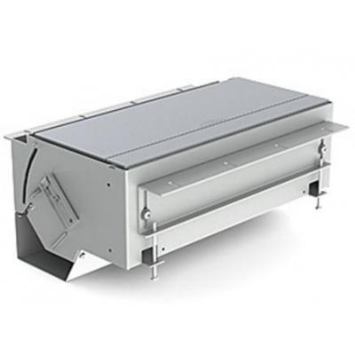 Kindermann CablePort flex, 4-fold, Aluminium Inbouweenheid - Zilver