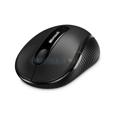 Microsoft Wireless BlueTrack Mobile Mouse 4000 Computermuis - Zwart