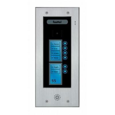 Fasttel deurbel: Wizard Elite FT2506V - Zwart, Grijs