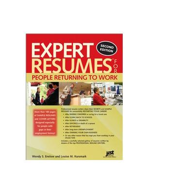 Jist publishing boek: Expert Resumes for People Returning to Work - eBook (PDF)