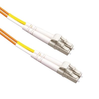 EECONN Glasvezel Patchkabel, 50/125 (OM2), LC - LC, Duplex, 0.5m Fiber optic kabel - Oranje