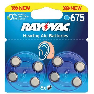 Rayovac batterij: RAY-675B-8P