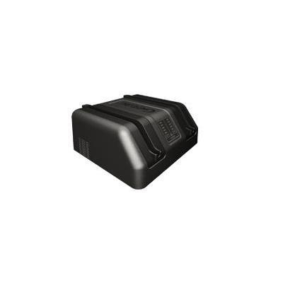 Getac F110 External Dual Bay Main Battery Charger Oplader - Zwart