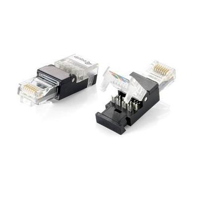 Equip kabel connector: RJ-45 Connector, Cat.5e - Zwart, Transparant