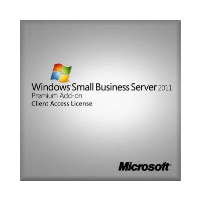 Hewlett Packard Enterprise Windows Small Business Server 2011 Premium Add-On Software licentie