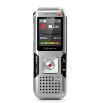 "Philips voice recorder: 3.5 mm, USB 2.0, micro-SD, 4.4958 cm (1.77 "") LCD, 128x160, HQ stereo, MP3, WAV, 8 GB NAND, ....."
