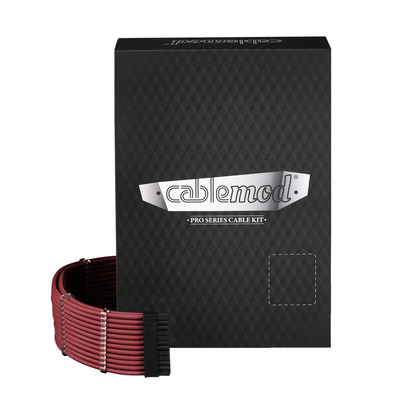 Cablemod C-Series PRO ModMesh Cable Kit for Corsair RMi/RMx/RM - Rood