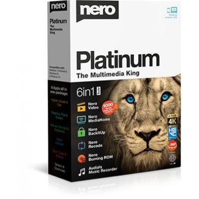 Nero Platinum 2019 videosoftware