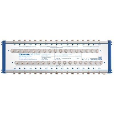 Spaun AZR 172170/15 F Kabel splitter of combiner - Blauw, Zilver