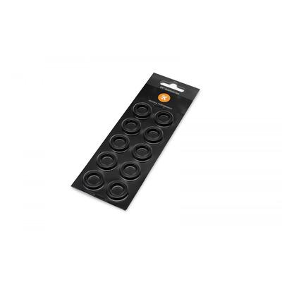 EK Water Blocks EK-Quantum Torque Color Ring 10-Pack HDC 16 - Zwart