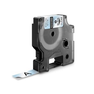 Dymo labelprinter tape: 12mm RHINO Permanent polyester