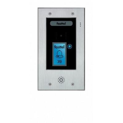 Fasttel deurbel: Wizard Elite FT2502V - Zwart, Grijs