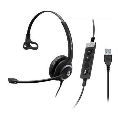 Sennheiser SC 230 MS II Headset - Zwart, Zilver