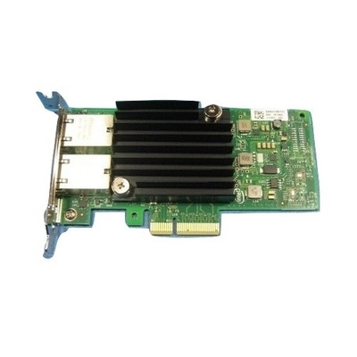 DELL Intel X550 Dual Port 10G Base-T Low Profile Adapter Netwerkkaart - Zwart,Groen