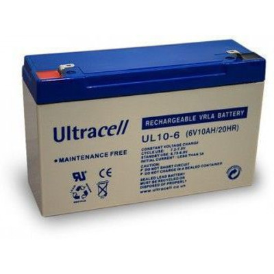 CoreParts MBXLDAD-BA040 UPS batterij - Zwart, Blauw