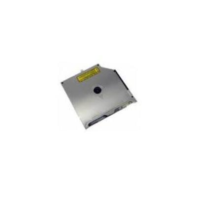 Microspareparts brander: Super Drive DVDR/RW, 6X, SATA, Slot, f /Apple Aluminum MacBook / Aluminum MacBook Pro - Grijs