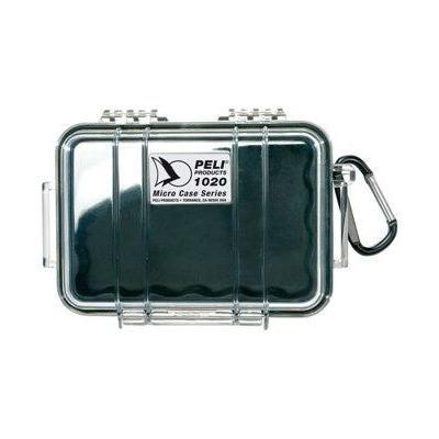 Peli apparatuurtas: 1020 Micro Case - Zwart, Blauw, Rood, Transparant, Geel
