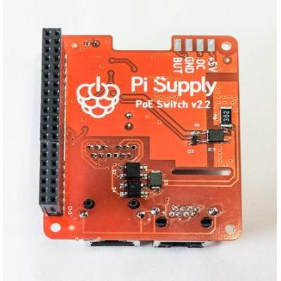 Raspberry pi : New Power Over Ethernet for