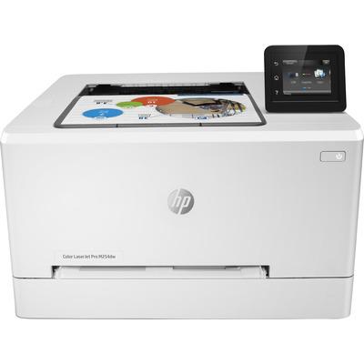 Hp laserprinter: LaserJet Color LaserJet Pro M254dw - Zwart, Cyaan, Magenta, Geel