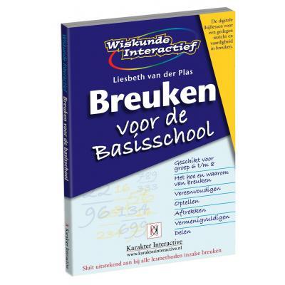 Karakter educatieve software: Wiskunde Interactief, Breuken voor de Basisschool (Groep 6 t/m 8)