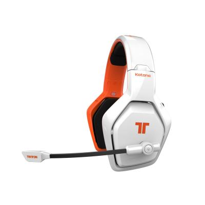 Tritton headset: Katana 7.1 HD - Oranje, Wit