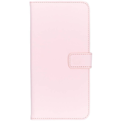 Luxe Softcase Booktype Samsung Galaxy A9 (2018) - Poederroze / Light Pink Mobile phone case